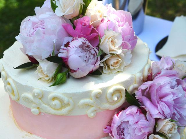 Hochzeitstorte Flowers
